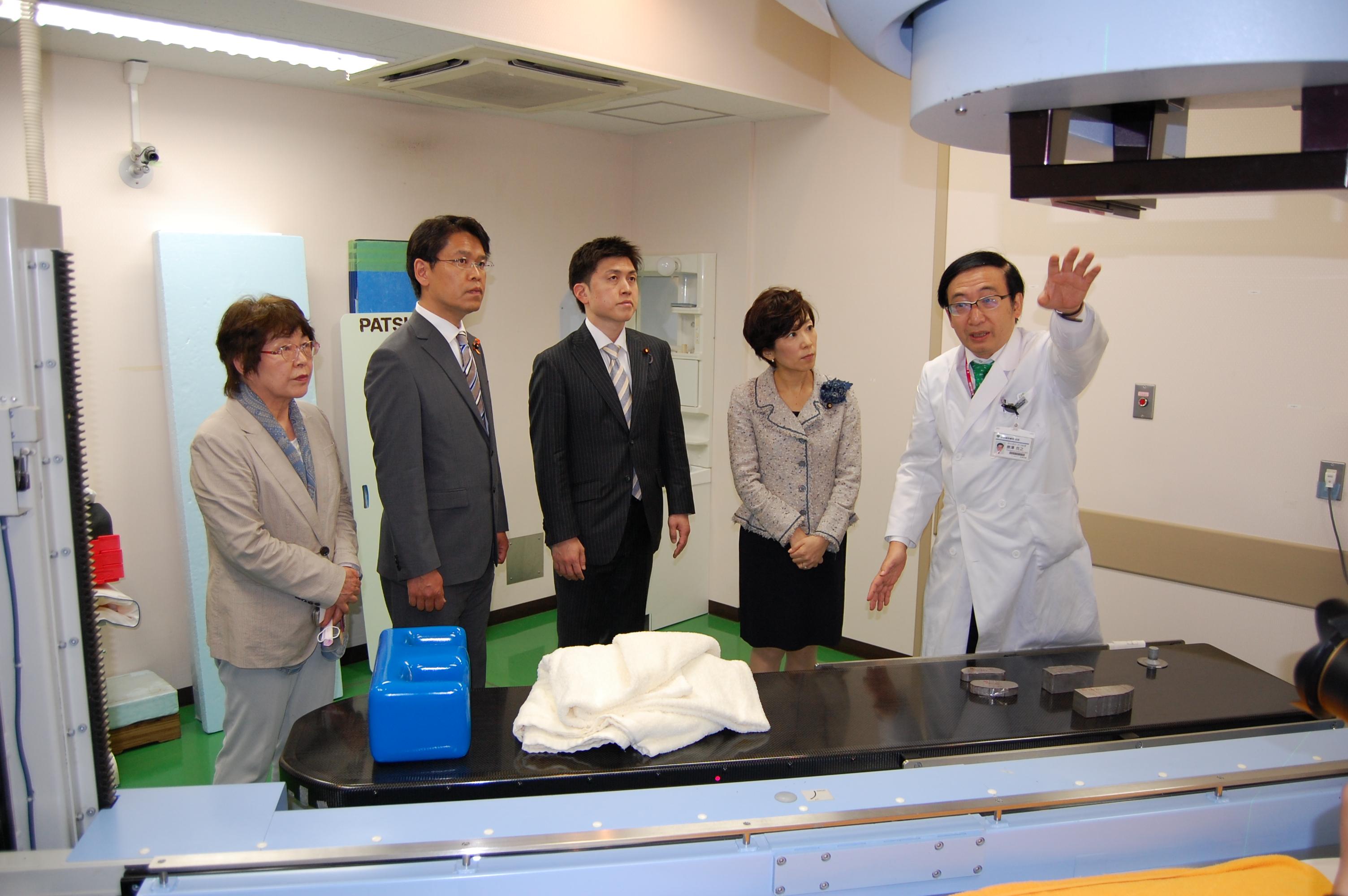 造血幹細胞移植推進PTで駒込病院を視察