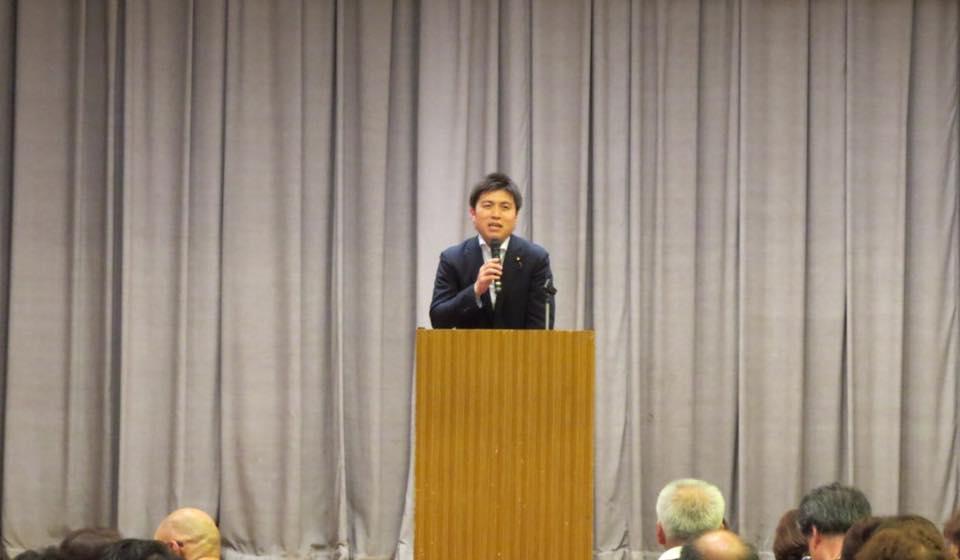 小田、立花、西園田の党支部会に参加