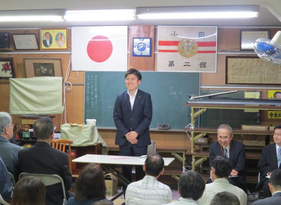 土岐Gの長洲・杭瀬・小田南の党員会に参加