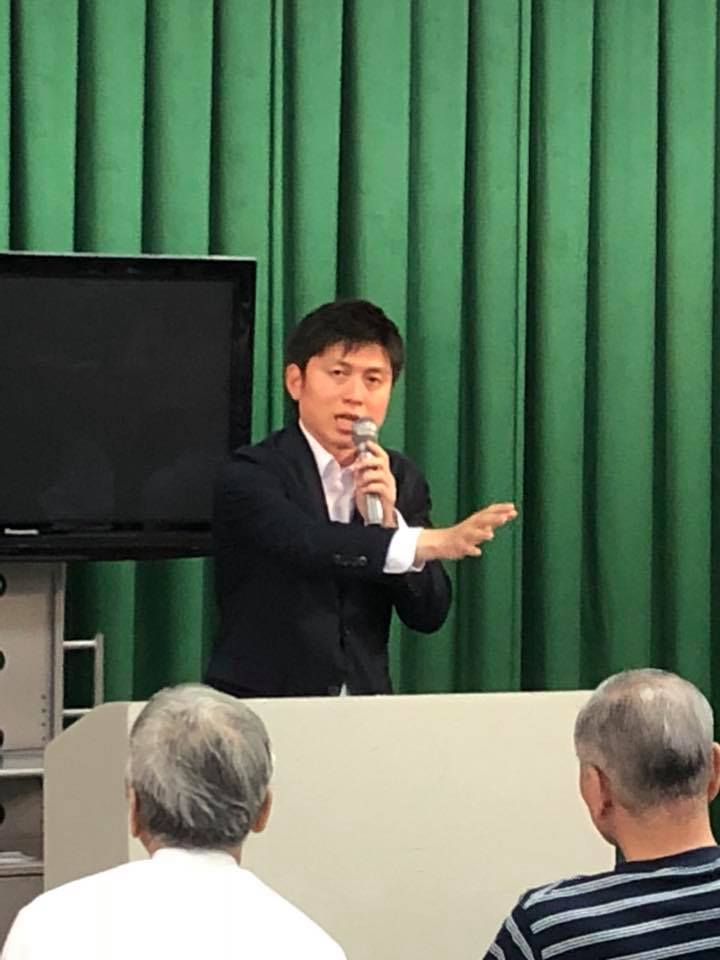 西宮市の山田G、八代Gの党支部会で国政報告