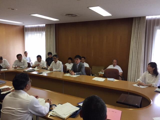 いじめ対策について尼崎市と意見交換