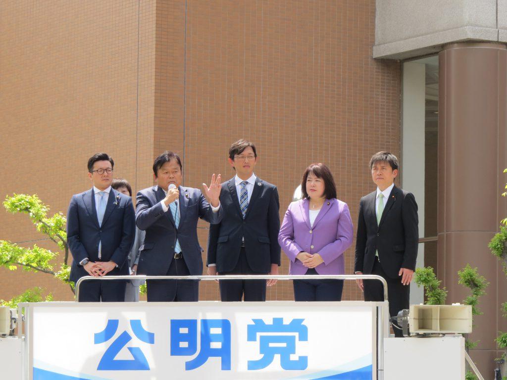 憲法記念日街頭演説